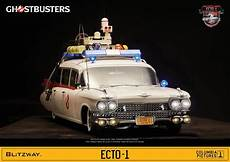 ghostbusters ecto 1 ghostbusters ecto 1 1959 cadillac 1 6 scale vehicle