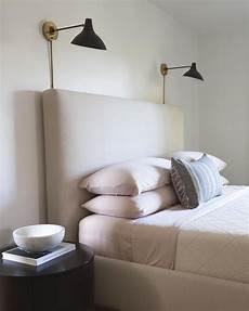 master bedroom inspiration sconces above headboard