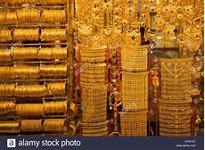 gold souk dubai united arab emirates middle east stock