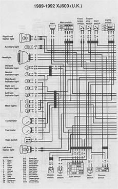 xj 600 wiring diagram wiring library
