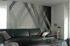 Tapeten Streifen Farbe Wandgestaltung