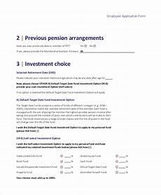 sle target application form 7 exles in pdf
