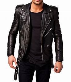 new black leather jacket genuine lambskin stylist