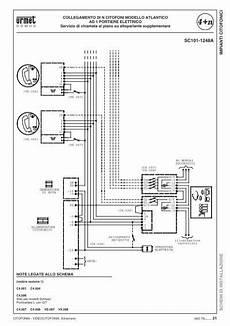 schema videocitofono urmet schema elettrico citofono bticino terraneo 600ws liberi giuseppe