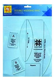 com simplicity double wedding ring quilting ruler and template 12 quot 7 8 quot