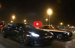 Video Japanese High Tech Vs American Muscle  VW Golf Tuning