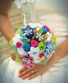 bouquet de fleurs en tissu bouquet de mari 233 e diy fleurs en origami tissu kanzashi