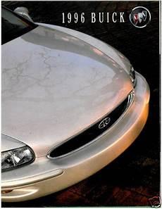 car engine manuals 1996 buick riviera auto manual 1996 buick 120 page sales brochure riviera park avenue roadmaster regal ebay