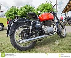Vintage Motorcycle Gilera B300 Editorial Photography