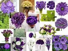 green and purple wedding