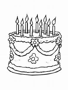 Malvorlagen Age Cake Birthday Cake Coloring Page Free Printable Birthday