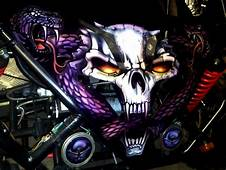 Airbrushing Custom Graphics Car Show Pictures