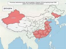 H7n9z novel infectious diseases the spread of h7n9 in china