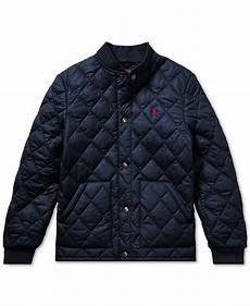 polo ralph big boys quilted baseball jacket coats