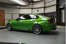 java green bmw m3 in m performance parts looks glorious
