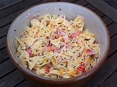 nudelsalat mit mayo nudelsalat rezept mit mayo