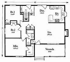 1200 sq ft house plan india cottage style house plan 3 beds 1 baths 1200 sq ft plan