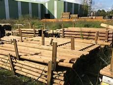 rondin de bois ext 233 rieur rondins bois autoclave pas cher