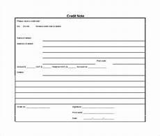 21 credit note templates word excel pdf free premium templates