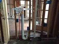 Plumbing For Laundry Room