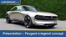 peugeot e legend pr 233 sentation peugeot e legend hommage 224 la 504 coup 233