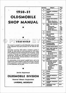 service manuals schematics 1998 oldsmobile 88 transmission control 1950 1951 oldsmobile repair shop manual original