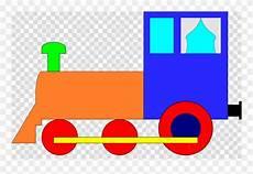 Gambar Kereta Api Berwarna Kartun Clipart