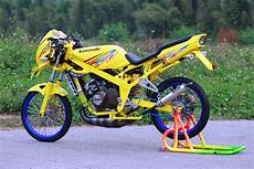 Warna Motor Keren by Kumpulan Modifikasi Motor R Warna Putih Terbaru