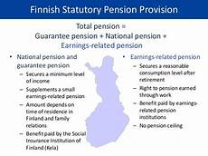 is national insurance a pension the earnings related pension a part of social insurance
