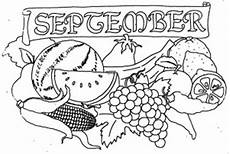November Malvorlagen September Mit Obst Ausmalbild Malvorlage Monatsbilder