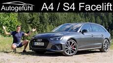 audi a4 facelift review s4 avant driving 2020