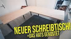 Schreibtisch Selbst Bauen - schreibtisch selber bauen das hats gekostet projekt
