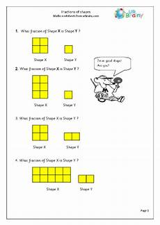 fraction worksheets year 3 4162 find fractions of shapes fractions maths worksheets for year 3 age 7 8