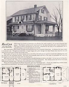 dutch colonial revival house plans 1922 dutch colonial revival the roslyn 1920s kit