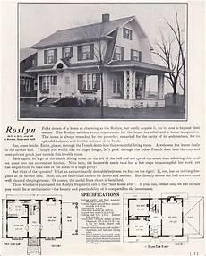 dutch colonial revival house plans 1922 dutch colonial revival the roslyn 1920s kit