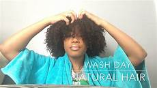 wash day routine for naturally thick curly hair youtube