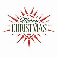 merry christmas typographic label transparent png svg vector