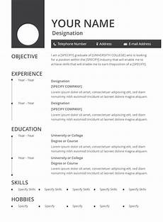 resume latest format pdf 47 best resume formats pdf doc free premium templates
