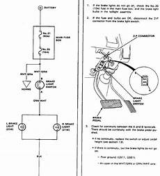 92 accord brake light wiring diagram 91 civic wagon shuttle brake lights not coming on bulbs fuses switch slides
