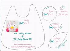 the crafty button free owl sewing pattern crafty button