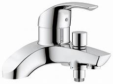 grohe eurosmart deck mounted bath shower mixer tap 25105000