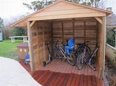 abri vélo bois abri 224 v 233 lo en bois