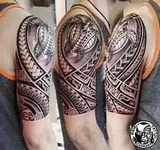 maori polinesische tattoos by mata studio