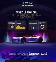 renault mondial de l automobile 2016 on behance