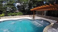 grecian pools intl custom vinyl liner inground pool youtube