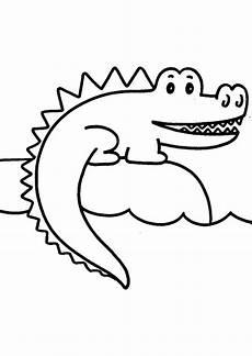 Malvorlage Krokodil Einfach Ausmalbilder Krokodil 25 Ausmalbilder Tiere