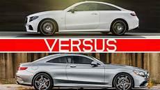 classe e coupé which one 2018 e class coupe vs s class coupe
