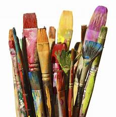 broken paintbrushes second