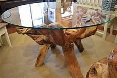 Teak Wurzel Tisch - teak root dining table in decorative items