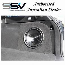 10 inch custom subwoofer box empty box to suit ve wagon street sound vision